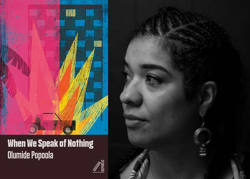 When We Speak of Nothing Launch Party with Olumide Popoola