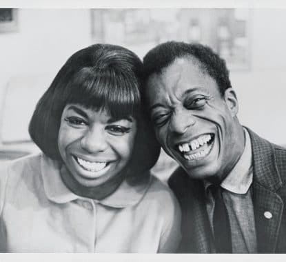 Nina Simone and James Baldwin. Image credit: New Yorker